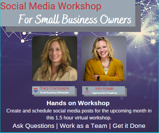Social Media Scheduling Workshop for Busy Small Business Owners