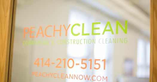 Perfect for the Times. PeachyClean Commercial & Construction Cleaning